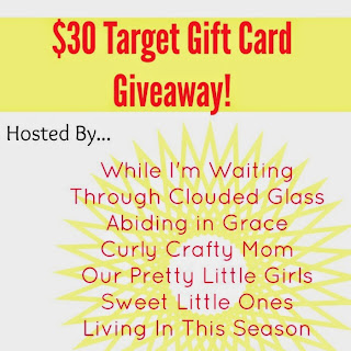 While I'm Waiting...$30 Target Giveaway