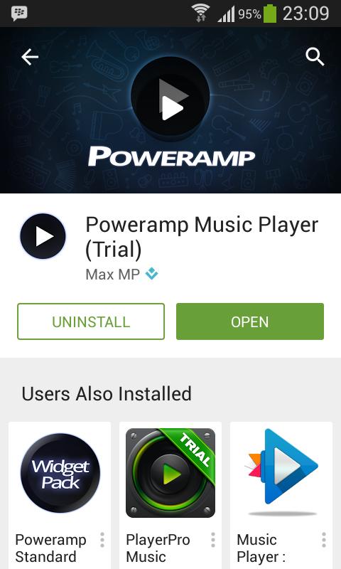 poweramp music player (apk + unlocker)
