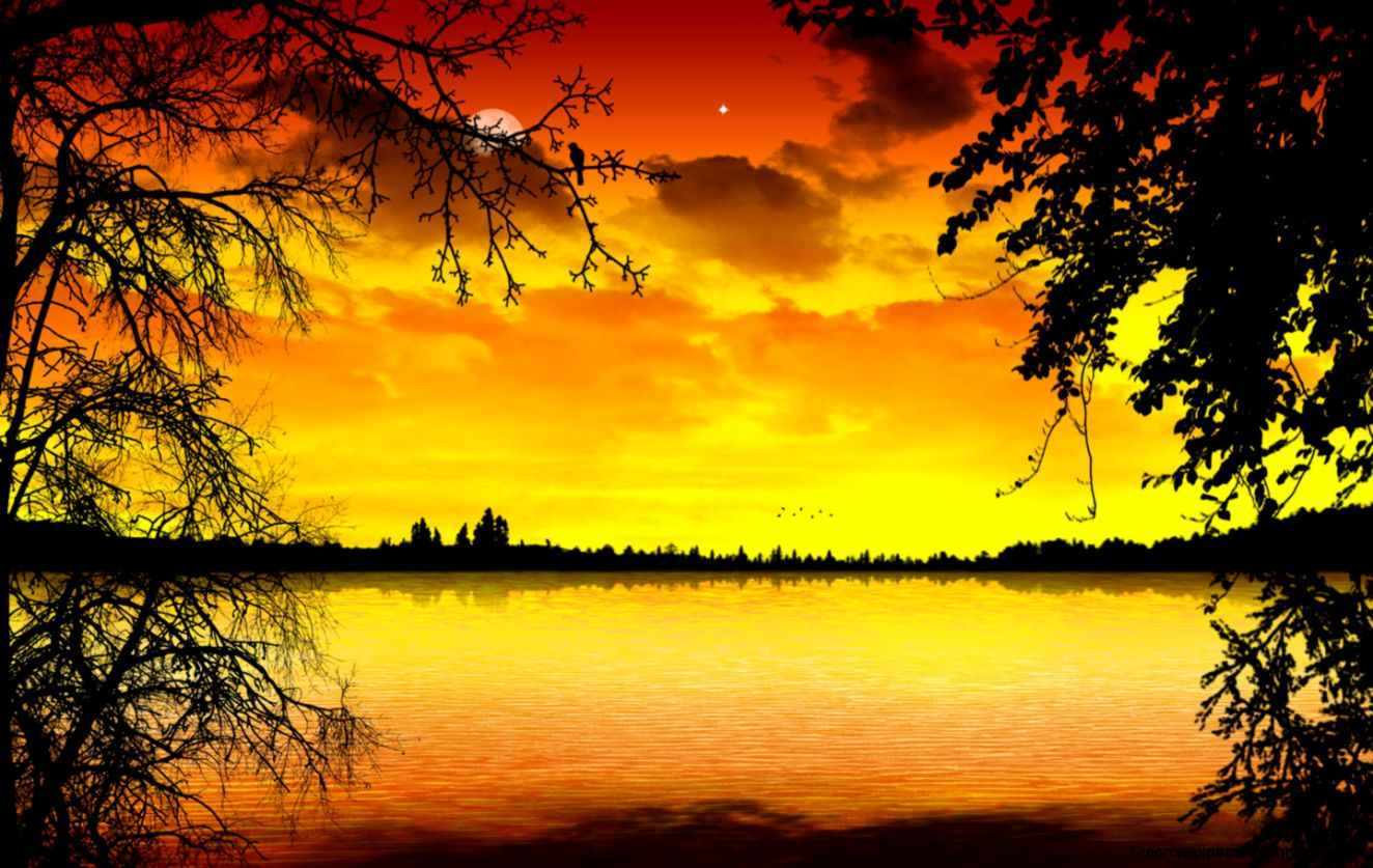Beautiful Sunset Picture Wallpaper Background 1 HD Wallpapers