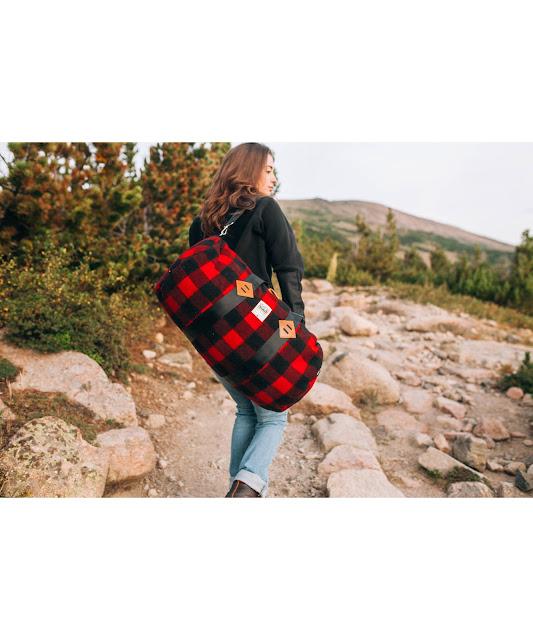 WOOLRICH X Topo Designs Duffle Bag Made In USA