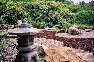 Japanese Zen garden created by Master Horst