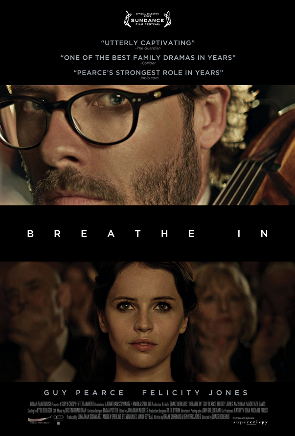 Breathe In póster