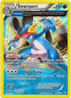 Swampert Primal Clash Pokemon Card