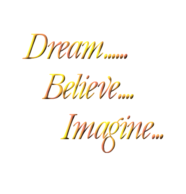 Graphic Groupies Dream Word Art