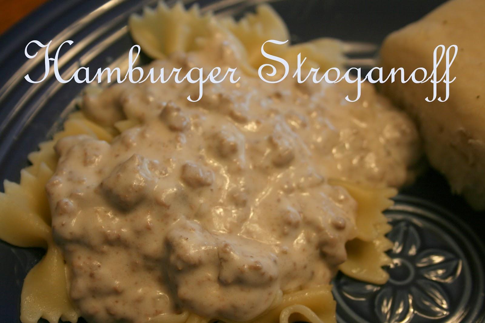 Family Heritage Recipes: Hamburger Stroganoff