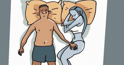 diz muito sobre a relação. Se pensarmos bem, o mais provável é que em ocasiões onde discutimos com nosso parceiro (a) costumemos dar-lhe as costas para dormir ou procurar por uma posição na cama que ajude a evitá-lo. Porém, quando passamos um dia romântico ou as coisas andam muito bem na relação ao descansar buscamos entrelaçar os corpos e buscar a posição mais aconchegante possível nos braços um do outro.