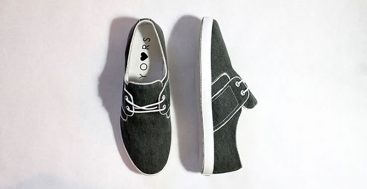 yours shoes minimalist casual canvas shoes independent