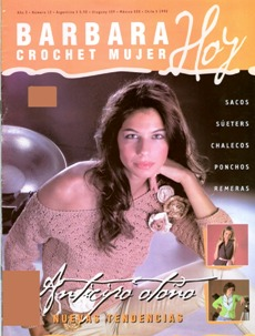 MAS REVISTA DE CROCHET 2016