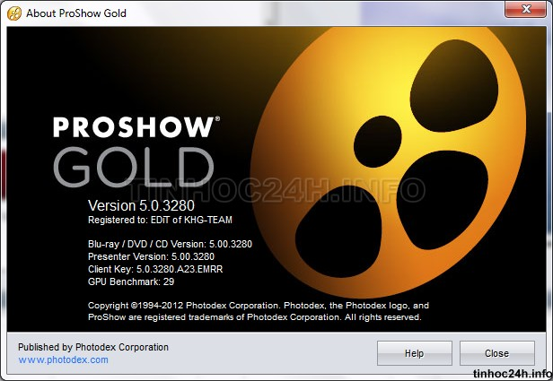 About Proshow Gold 5