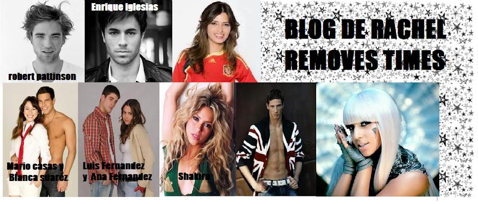 Rachel removes times