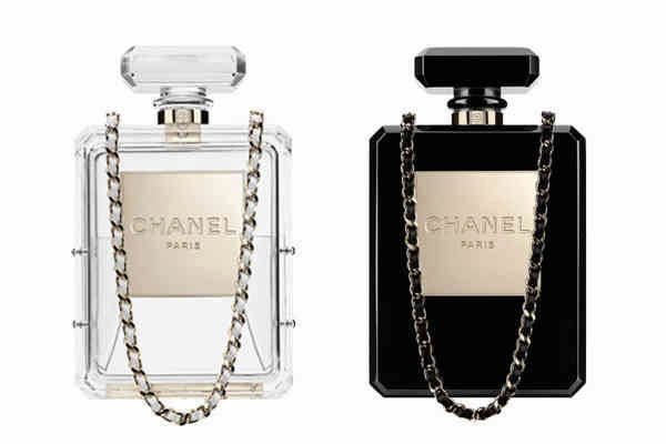 chanel no 5 bottle bag