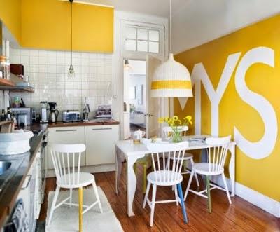 Decoraciones y mas modernas habitaciones con paredes - Habitaciones amarillas ...