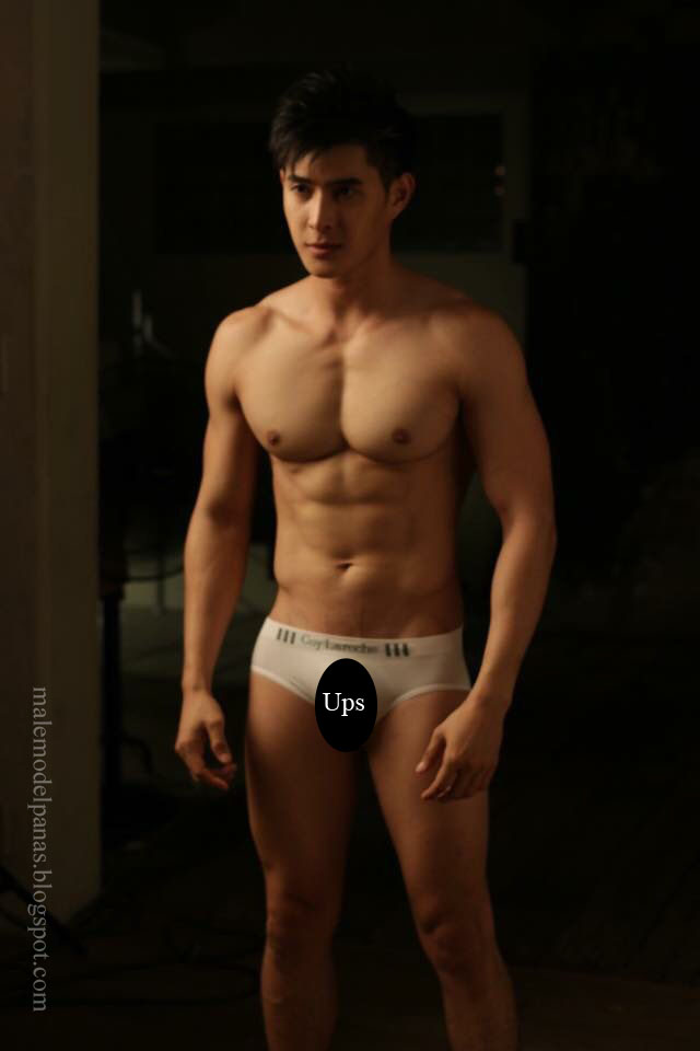sexy cute handsome asian men in underwear
