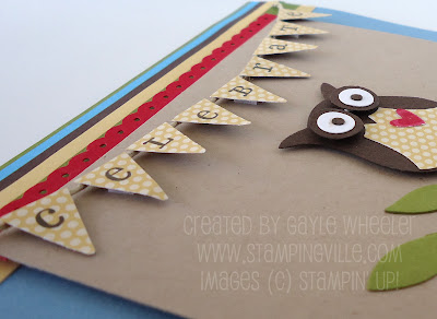 Celebrate Banner with Play Date Designer Series Paper