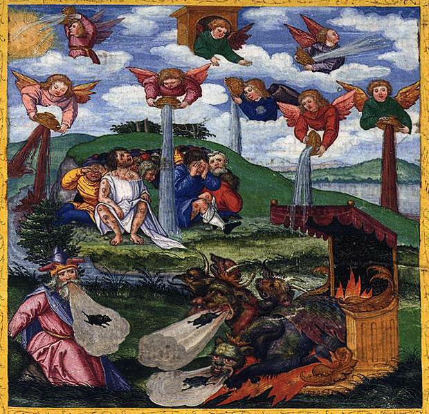 """ขันเจ็ดใบในพระคัมภีร์ใบเบิ้ลบท """"วิวรณ์  16"""" (Revelation 16)"""