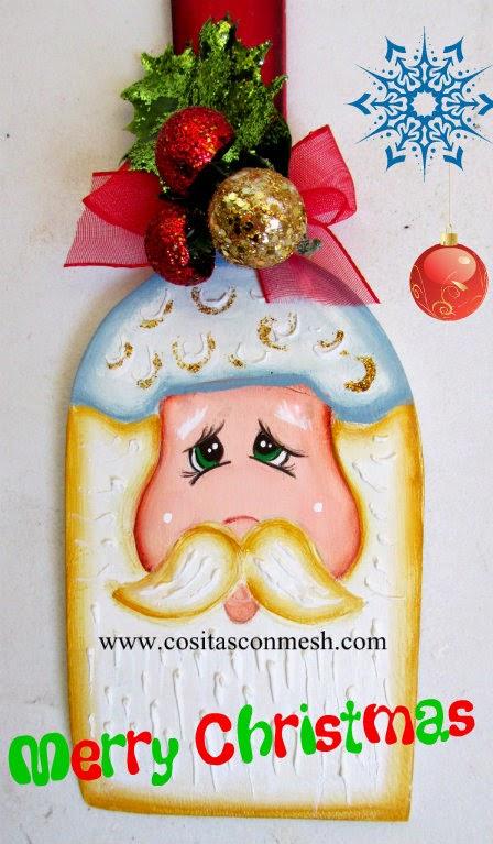 Adornos navide os para la cocina manualidades cositasconmesh for Manualidades para la cocina