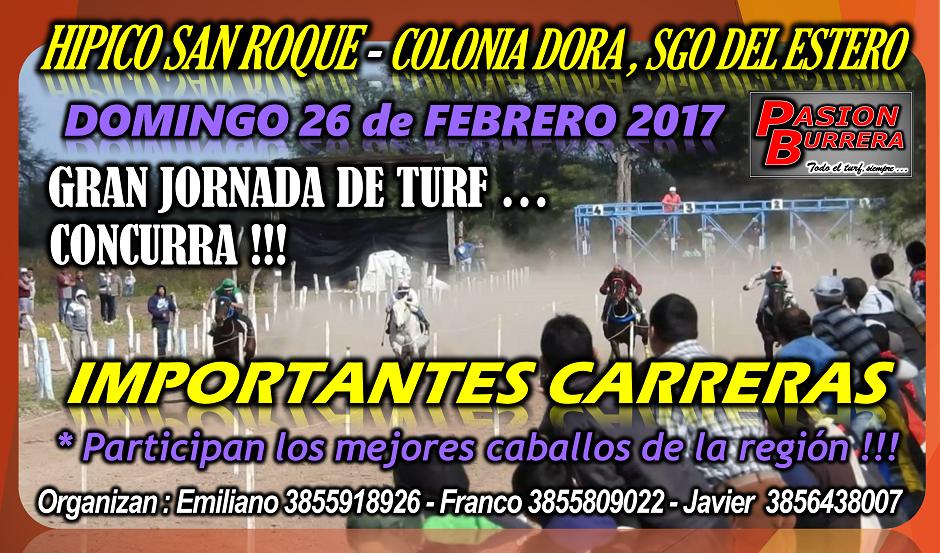 COLONIA DORA - 26 DE FEBRERO