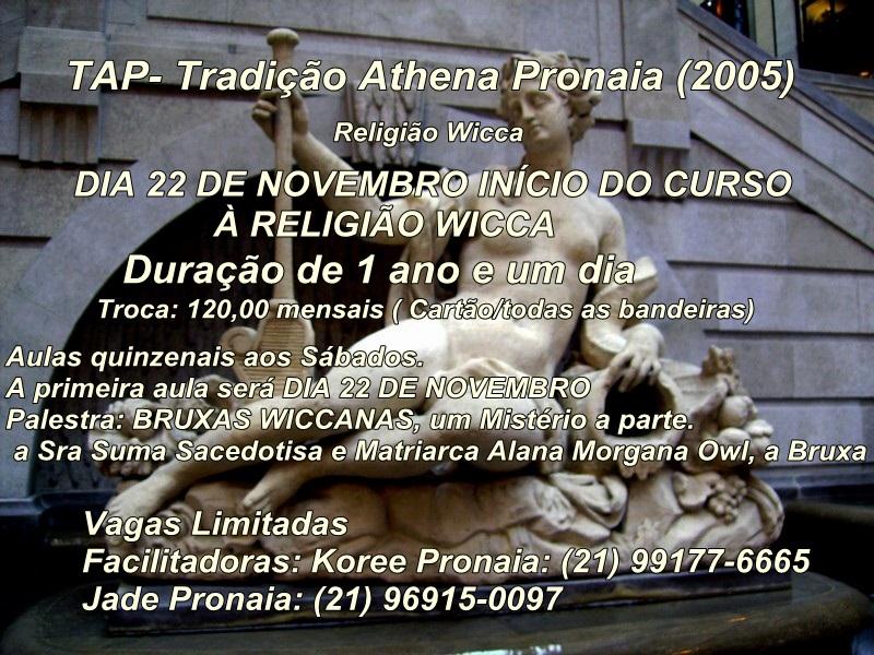 CURSO DE WICCA, A RELIGIÃO