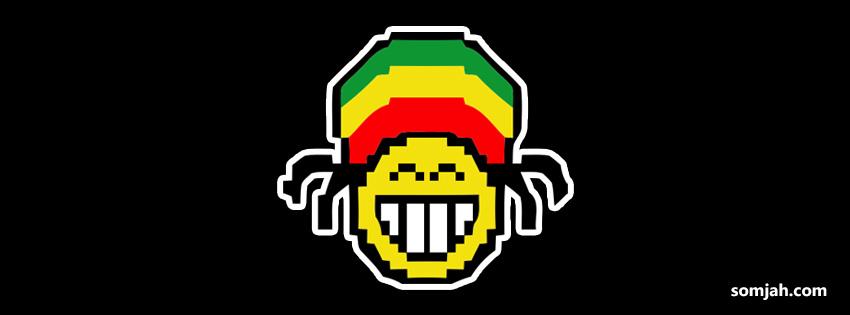 Capas Para Facebook   Personagens Em Desenho No Estilo Do Reggae