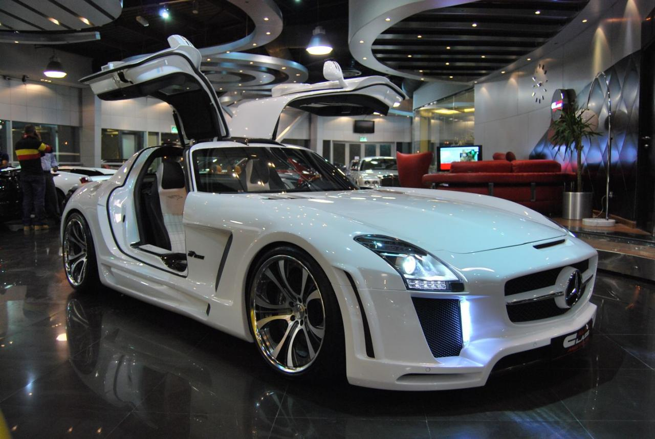 Mercedes SLS AMG widebody FAB