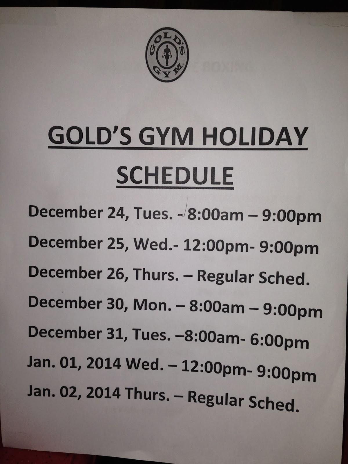 i am kojie: gold's gym glorietta schedule