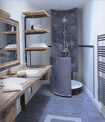 diseño de baño hombre