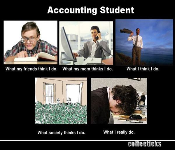 Accounting the majors