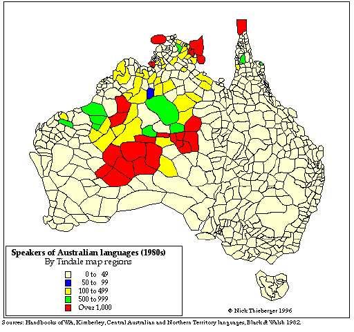 Bill Kerr Linguicide Language Killing And Glottophagy Language - Australian language map