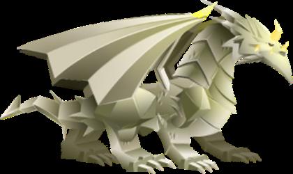 imagen del dragon origami