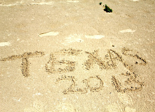 Texas in the sand - Matagorda