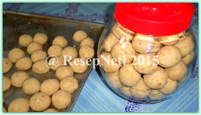 Resep kue kacang tanah atau skippy di dapur kusNeti 2015