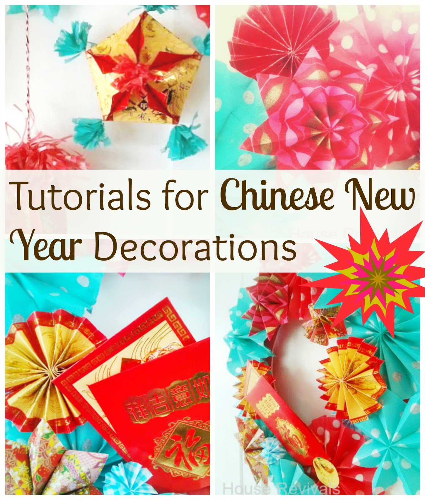 Last Year I Made Lots Of Paper Lanterns And New Year