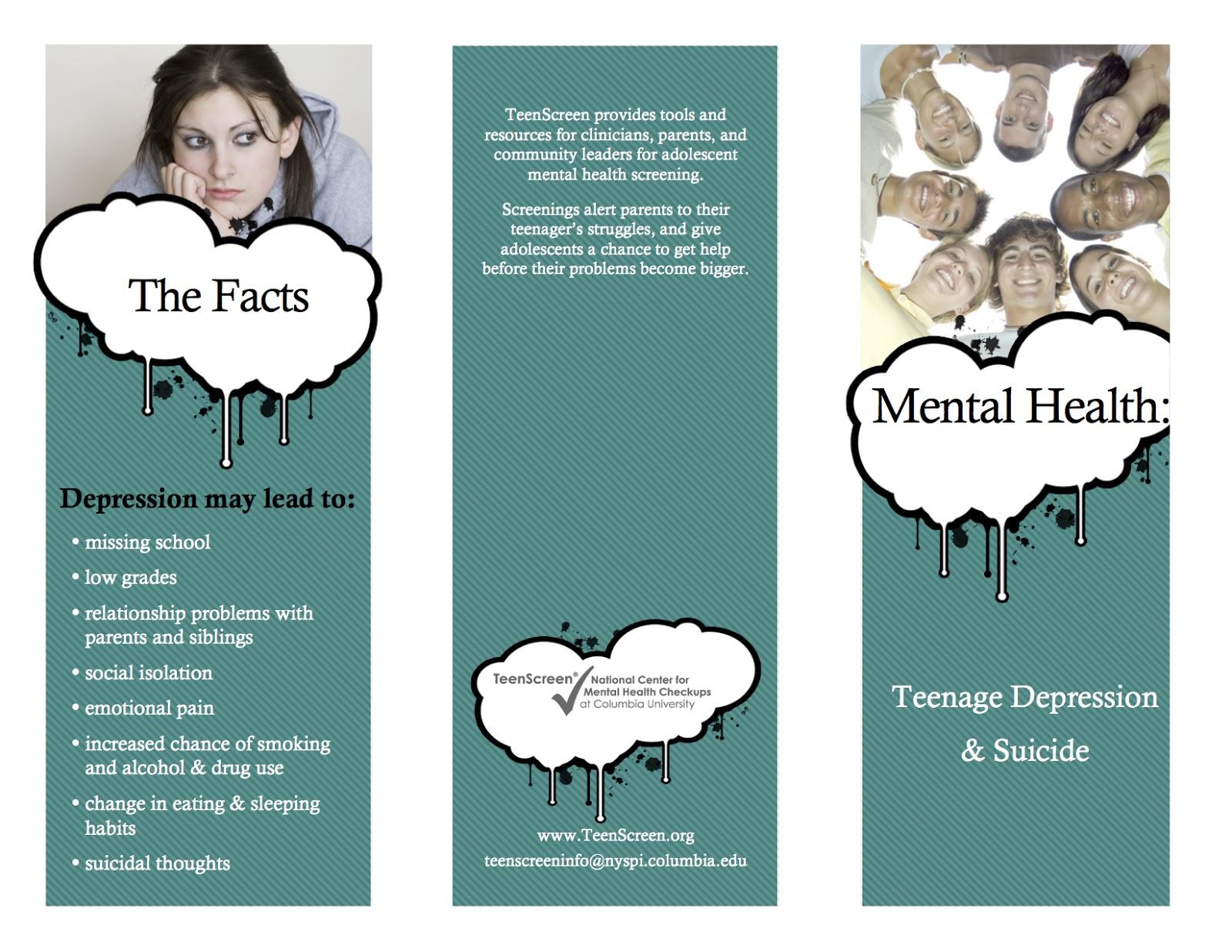 health brochure examples