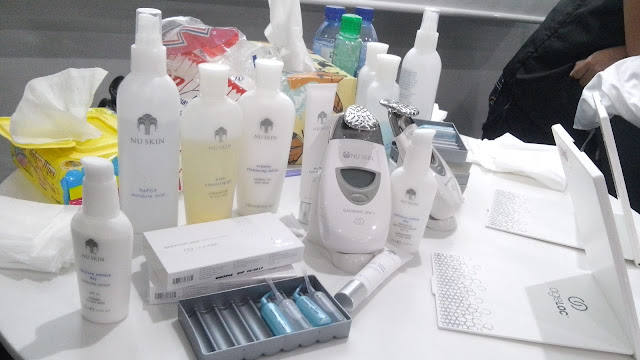 ageloc device, ageloc gel, galvanic spa device, nu skin skin care products.