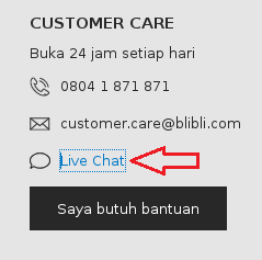 alamat email blibli.com