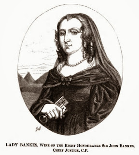 Lady Bankes  from The Story of Corfe Castle by G Bankes (1853)