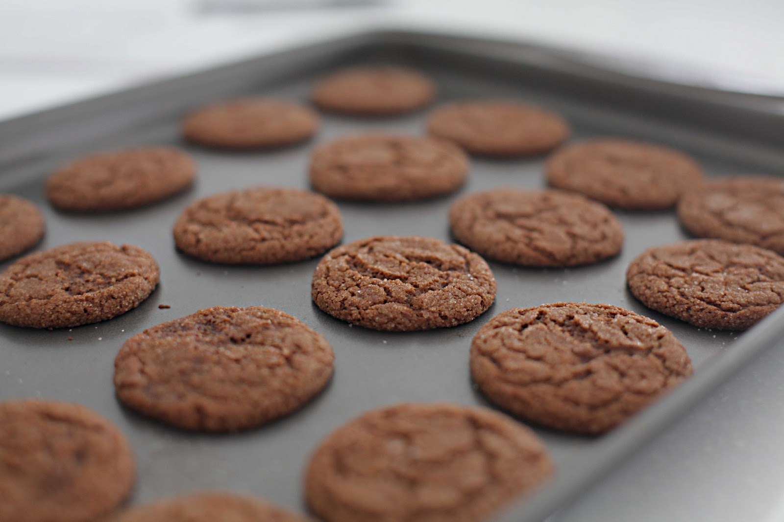 beach house in the city: chewy molasses-spice cookies...yes please!