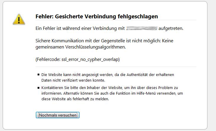 ssl_errpr_no_cypher_overlap Error in Firefox