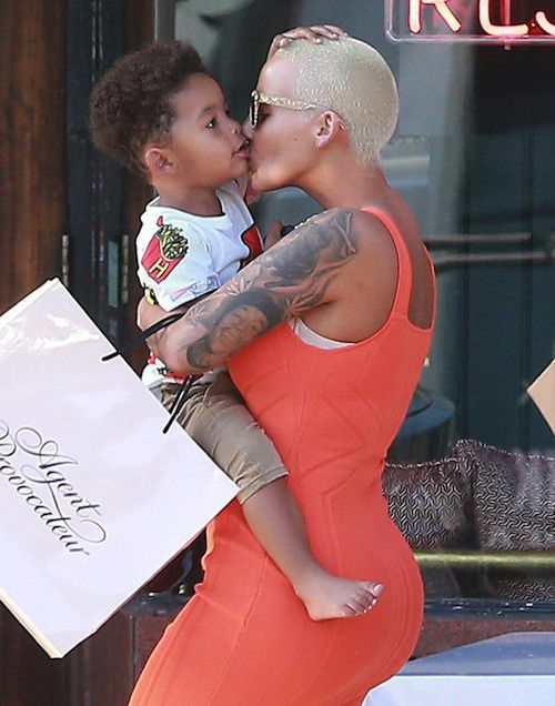 Amber Rose gaga son And her new boyfriend