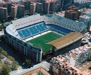 Sejarah Awal Berdiri Stadion Mestalla - Valencia