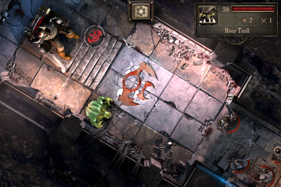 Warhammer Quest iOS review throne room