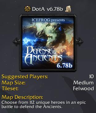 DotA 6 78b World Of Craft DotA Yeni Versiyon Map Hileleri indir