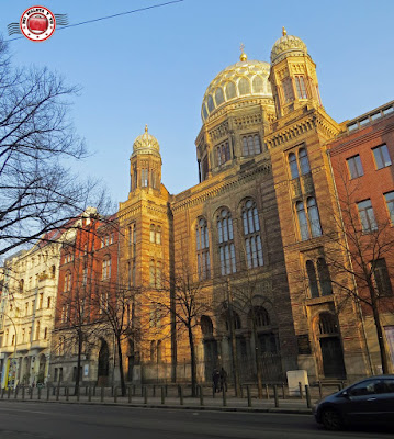 Berlín - Nueva Sinagoga