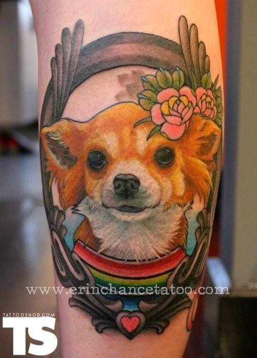Tatuaje de chihuahua, http://distopiamod.blogspot.com