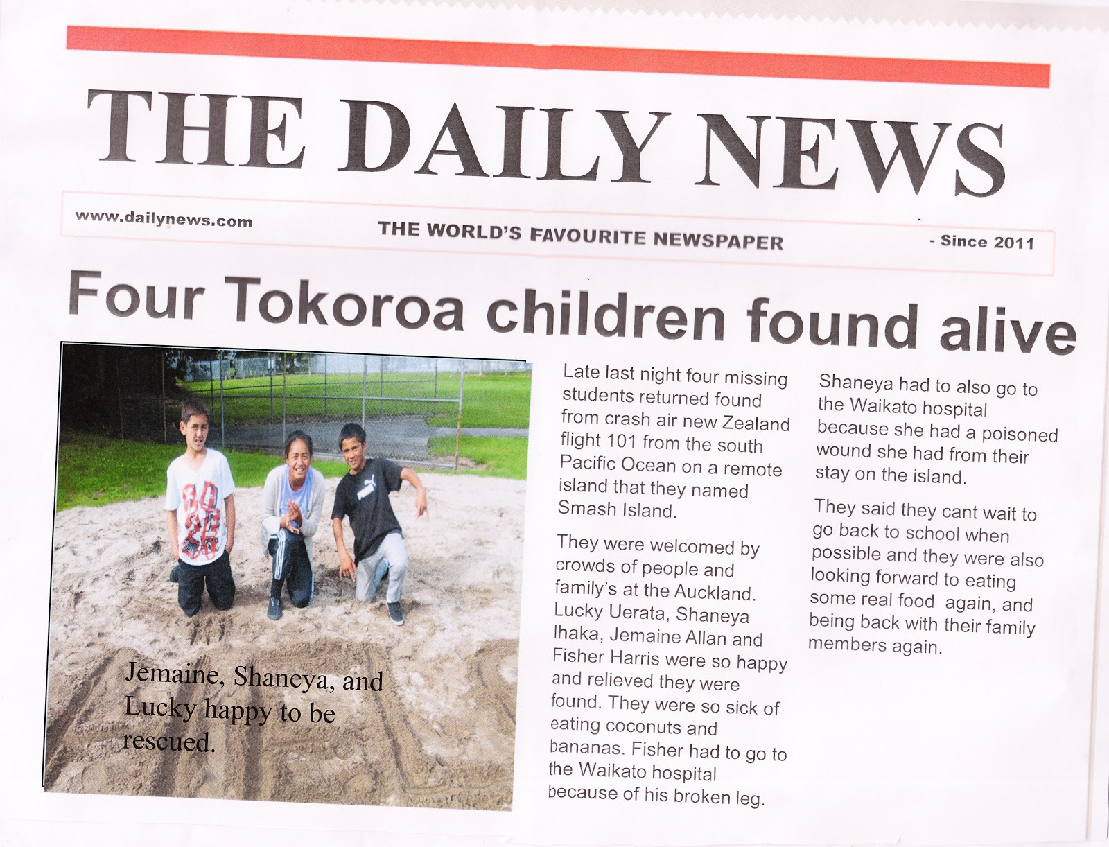 We wrote some about the japanese tsunami and christchurch earthquake