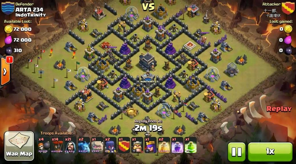 base war th 9 base war terbaik base war clash of clans