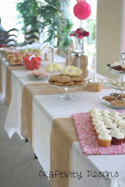 Bridal Shower Menu, Bridal Tea, Vintage Style, Vintage Theme, with free printables @CraftivityD