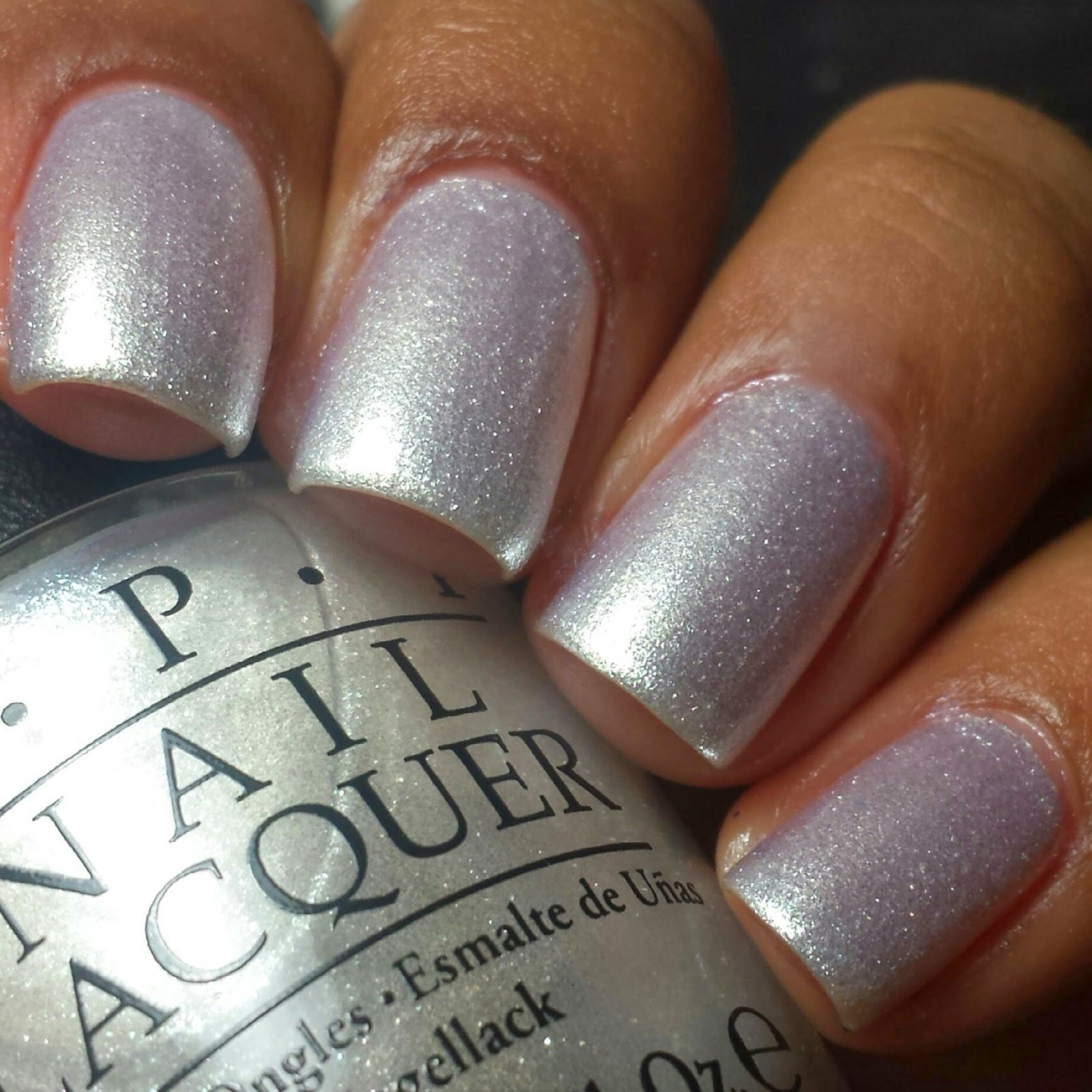 Blue Velvet Lacquer: OPI Fashion Plate: Swatches & Review