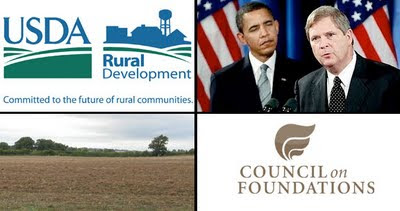 usda signs with rockefeller's council of foundations to exploit rural US
