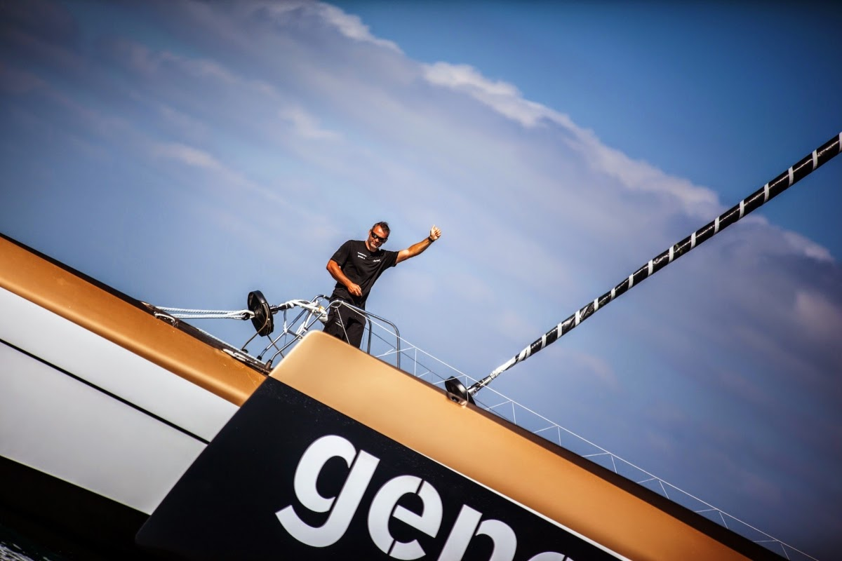 Yann Guichard et Spindrift 2 qualifiés pour la Route du Rhum.